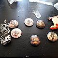 Iron maiden buttons