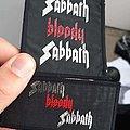 Sabbath bloody sabbath patches