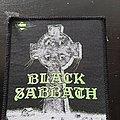 Black sabbath headless cross patch