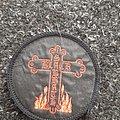 Black sabbath 80s cross patch