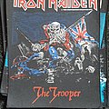 Iron Maiden - Patch - Iron maiden the trooper backpatch