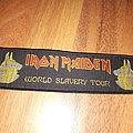 Iron maiden world slavery strip patch
