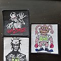 White zombie patch collection