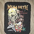 Megadeth - Patch - Megadeth Peace sells printed patch