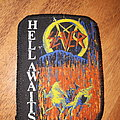 Slayer hell awaits vintage patch