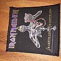 Iron maiden woven seventh son patch
