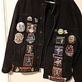 Iron maiden tribute vest mixed vintage/newer Battle Jacket