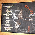 Morgoth cursed vintage woven Patch