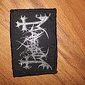 Mayhem woven logo patch vintage
