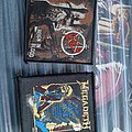Slayer and megadeth patches