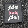 black sabbath bloody sabbath patch
