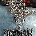 Megadeth - Pin / Badge - Original poker pendant megadeth