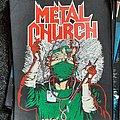 Metal Church - Patch - Metal church - fake healer backpatch
