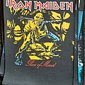 Iron Maiden - Patch - Iron maiden piece of mind backpatch