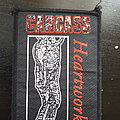 Carcass heartwork vintage patch