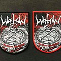 Watain woven lawless darkness patch
