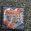 Accept metal heart original patch