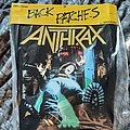 Anthrax -among the living backpatch