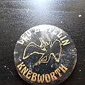 Led zeppelin knebworth huge button