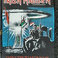 Iron maiden 2 minutes to midnight back patch