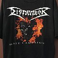 Dismember Hate Campaign tour shirt