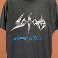 Sodom - TShirt or Longsleeve - Sodom Sodomy & Lust shirt 1987