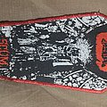 Napalm Death Scum coffin patch used