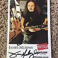 James Murphy Autographed Promo