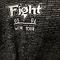 Fight - 93-94 Nailed To The Road World Tour