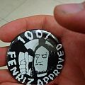 Fenriz pin badge