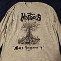 "Mortuous ""Mors Immortalis"" Longsleeve TShirt or Longsleeve"