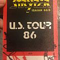 Stryper Autographed backstage pass never used Pin / Badge