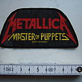 """Metallica """"Master of Puppets"""" Patch"""