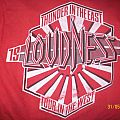 Loudness - TShirt or Longsleeve - thunder in the east, tour in the west