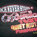 Cinderella - TShirt or Longsleeve - rock never stops