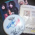 Autographed Motley Crue Other Collectable