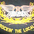 Aerosmith - TShirt or Longsleeve - rockin` the locals