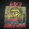 Slayer Seasons In The Abyss European Tour 1990 Shirt