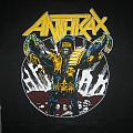 Anthrax Among The Living World Tour Phase 2 Shirt