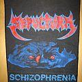 Sepultura Schizophrenia Backpatch