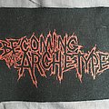 "Becoming The Archetype ""Old Thrash"" logo patch"