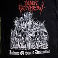 Black Witchery - Inferno of Sacred Destruction Boot TShirt or Longsleeve