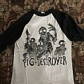 Pig destroyer baseball shirt
