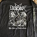 Desaster - TShirt or Longsleeve - The arts of destruction ls