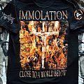 Immolation - Close To A World Below - reprint - T-Shirt