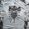Mortuous - Chain-rip-face - T-Shirt