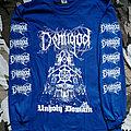 Demigod - Unholy Domain - blue - Longsleeve TShirt or Longsleeve