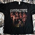 Cannibal Corpse - TShirt or Longsleeve - Cannibal Corpse - European Torture 2012 - T-Shirt
