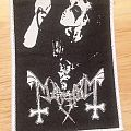 Mayhem - Dead woven patch