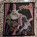 "Tankard ""Fat, Ugly & Live"" Patch"
